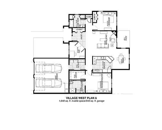 Village West Plan A