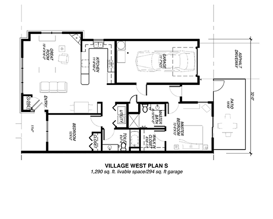 Village West Plan S